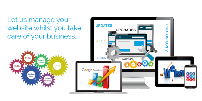 Website Management And Website Maintenance