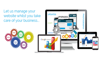 WEBSITE MANAGEMENT & MAINTENANCE